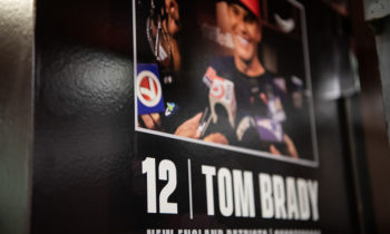 Tom Brady's Locker Comes to Kenmore Square!
