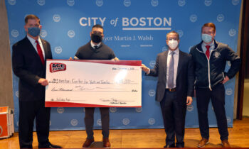 #Giving Tuesday 2020, Ace Ticket donates $10,000 to the City of Boston